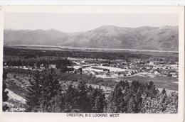 CRESTON LOOKING WEST  AUTENTICA 100% - British Columbia