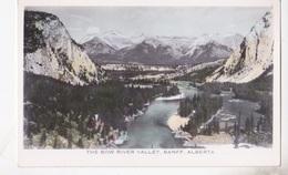 BANFF THE BOW RIVER VALLEY   AUTENTICA 100% - Banff