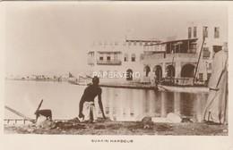 Sudan  SUAKIN Harbour   RP   Su 740 - Soudan