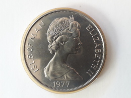 One Bermuda Crown 1964 Argent. Silver. - Bermudes