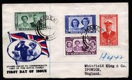 A5834) UK Basutoland Cover 1947 To Ipswich / UK - Basutoland (1933-1966)