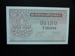 LAOS : 1 KIP    ND 1962   P 8a  Signature 4      NEUF - Laos