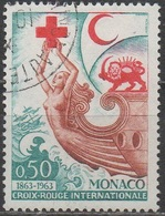 MONACO  __N° 607__ OBL VOIR SCAN - Gebraucht