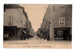 CPA 70 - Gray - Rue Vanoise , Commerce Bonnet Bergeret - Gray