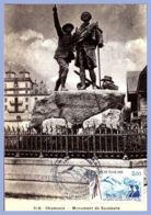 Carte Maximum - 8 Aout 1986 - Chamonix (74) - 2,00F. 216 - Monument De Saussure - 1980-89