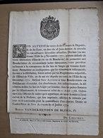 Ordonnance Concernant Les Distillateurs D'eau-de-vie à Liège En 1774 - Décrets & Lois