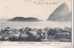 RIO DE JANEIRO CATTETE E PAO D'ASSUCAR  VG    AUTENTICA 100% - Rio De Janeiro