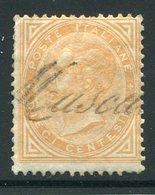 Italy  Sc#27 (o) Fine/vf  1863 - Used