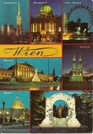 Vienna, Wien (Austria) Vedute E Scorci Panoramici Notturni, Views By Night, Vues La Nuit, Ansicht Bei Nacht - Autres