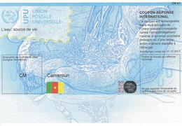 Cameroun Cameroon Reply Coupon Reponse Type T36 IRC IAS Hologram - Kameroen (1960-...)