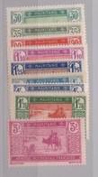 Mauritanie N° 57 à 61** - Mauritanie (1906-1944)