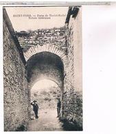 34..SAINT PONS ?? 1928 PORTE DE NOSTRE SENHE ENTREE INTERIEURE - Saint-Pons-de-Mauchiens