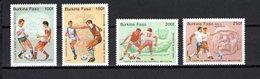 BURKINA FASO PA   N° 305 à 308  NEUFS SANS CHARNIERE  COTE  9.50€  MEXICO 86  FOOTBALL - Burkina Faso (1984-...)