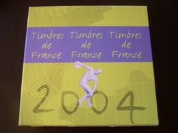 Le Livre Des Timbres Année 2004 Sans Les Timbres - Documents Of Postal Services