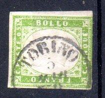 REGNO  VITTORIO  EMANUELE II   1861  5 Cent.  USATO - 1861-78 Vittorio Emanuele II