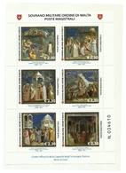 2017 - Sovrano Militare Ordine Di Malta BF 140 Giotto - Vita Di Gesù - Quadri