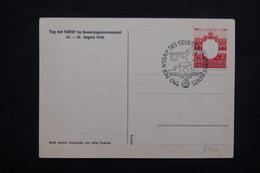ALLEMAGNE - Carte Patriotique , Oblitération De Krakau En 1943 - L 21953 - Occupation 1938-45