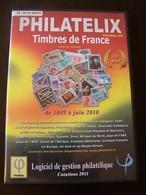 Pc Dvd Rom : PHILATELIX Timbres De France - Logiciels