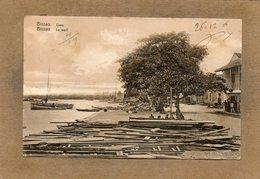 CPA - GUINEE - BISSAU -  Aspecto Da Caes - Aspect Du Waerf En 1906 - Guinea-Bissau