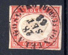 REGNO  VITTORIO  EMANUELE II   1861  40 Cent.  USATO - 1861-78 Vittorio Emanuele II