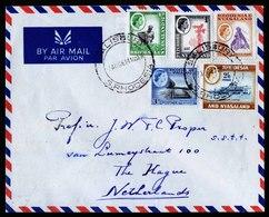 A5840) UK Rhodesia & Nyasaland Cover Salisbury 07.08.61 To Netherlands - Rhodesien & Nyasaland (1954-1963)