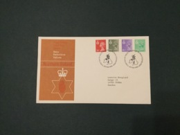 GB 1982  12.5p-26p (4 Vals)  N.Ireland Machin FDC, PO Cover, Philatelic Bureau SpeciaI Postmark - FDC