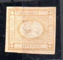 REGNO  VITTORIO  EMANUELE II   1862  CIFRA IN RILIEVO  2 CENT.  .  USATO - 1861-78 Vittorio Emanuele II