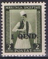 DO 7360 ALBANIË  XX  YVERT NUMMERS 280 ZIE SCANS - Albanie
