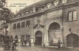 BESANCON  L'Hotel De Ville Personnages RV - Besancon