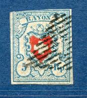 Suisse, N° 20 Oblitéré - 1843-1852 Federal & Cantonal Stamps