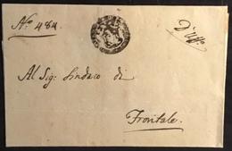 1812 PALAZZATA  PER FRONTALE - Italy