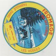 étiquette De Fromage - Fromage  Fabriqué Dans Les Vosges - Le Roi Des Cimes - Laiterie D'Anglemont - Cheese