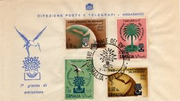 Somalia 1960 FDC Anno Mondiale Del Rifugiato - Somalie (1960-...)