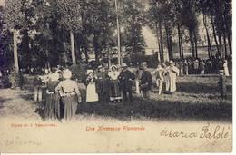 (Zaventem) Une Kermesse Flamande 1909 - Zaventem