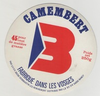 étiquette De Fromage - Camenbert BRANDT- Dommartin Les Remiremont (Vosges) - Cheese
