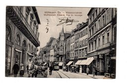 CPA 68 - Mulhouse Alsace - Rue Du Sauvage , Wildemannstrasse - Mulhouse