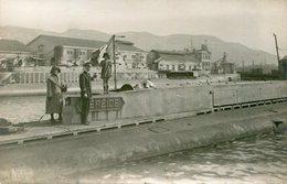 SOUS MARIN NEREIDE  - LOT De 2 CPA - - Submarines