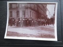 PHOTO PARIS FANFARE  DRAGONS GARDE RÉPUBLICAINE   19 EME ALBUMINE 11,5 X 8,5 CM - Photos