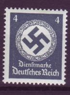 Dt. Reich Dienst D 167 Ohne WZ Einzelmarke 4 Pf Postfrisch  - Dienstpost