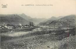 CPA 73 Savoie Albertville Confluent De L'Isere Et De L'Arly Non Circulée - Albertville