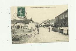 19 - CHAMBERET - Avenue De Surdoux Animée Bon état - Autres Communes
