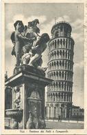 W926 Pisa - Fontana Dei Putti E Campanile - Torre Pendente / Viaggiata 1950 - Pisa