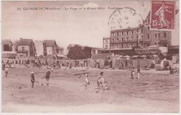 Quiberon - La Plage Et Le Grand Hôtel Penthièvre - Quiberon