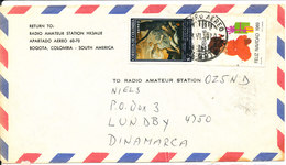 Colombia Air Mail Cover Sent To Denmark 1970 - Colombia