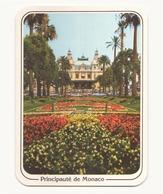 Monte-Carlo Le Casino, Les Jardins ( Tampon Exposition Philatélique à Monaco ) - Monte-Carlo