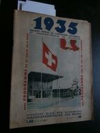 1935 Bulletin Officel De L'exposition De Bruxelles 38 (27/07) : Suisse, Kessels - Livres, BD, Revues