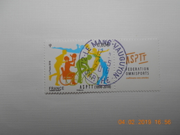 FRANCE 2018  YT N° 5208   120eme ANNIVERSAIRE DE L'ASPTT  Timbre Neuf  Cachet Rond - France