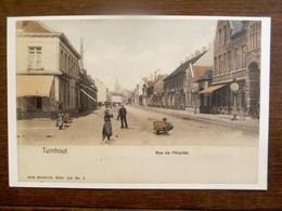 "Prentkaart Door Brusselse Club  "" Manneken Pis ""            TURNHOUT - Oud-Turnhout"