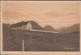 1916. Two Kings. 10 Aur Red. Perf. 14x14½, Wm. Cross. REYKJAVIK 12. VI. 19. Postcard:... (Michel 81) - JF310130 - 1873-1918 Dipendenza Danese