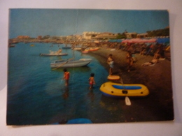 """Cartolina Viaggiata """"SANTA MARINELLA  Stabilimento Balneare PIRGO"""" 1974 - Italy"""